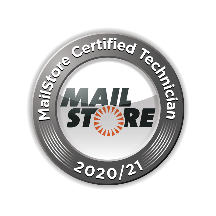 MailStore Certified Administrator 2018/2019